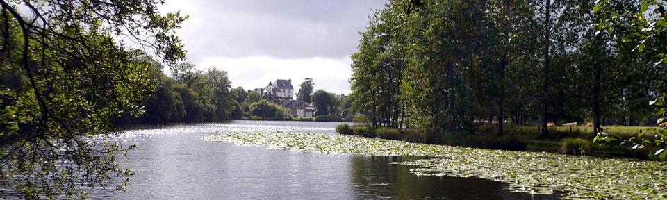 Les Pieds dans l'Herbe – Chambres d'hotes et gîtes – Rosporden – Finistère Bretagne - étangs Rosporden