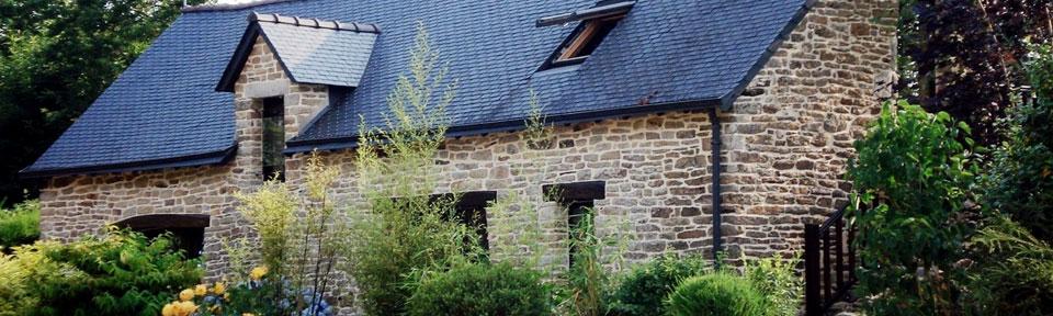 Les Pieds dans l'Herbe – Chambres d'hotes et gîtes – Rosporden – Finistère Bretagne - gîte exérieur