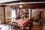 gîtes Les Pieds dans l'Herbe – Rosporden – Finistère Bretagne - salle à manger et salon